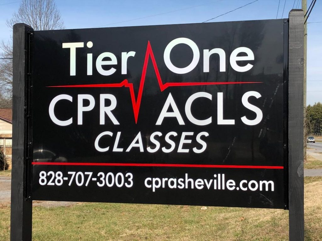 Tier One CPR ACLS and BLS Classes - sign in Asheville, NC